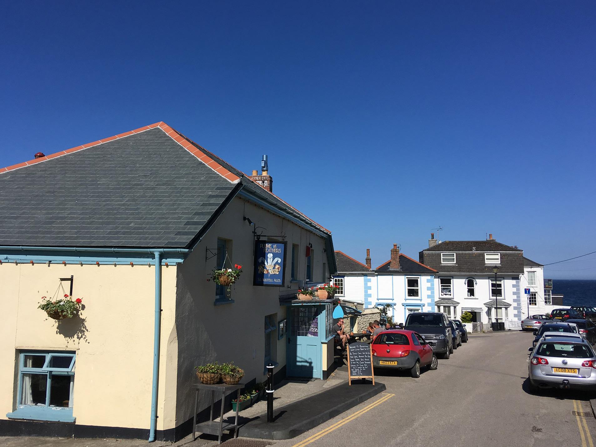 The Plume of Feathers pub Portscatho