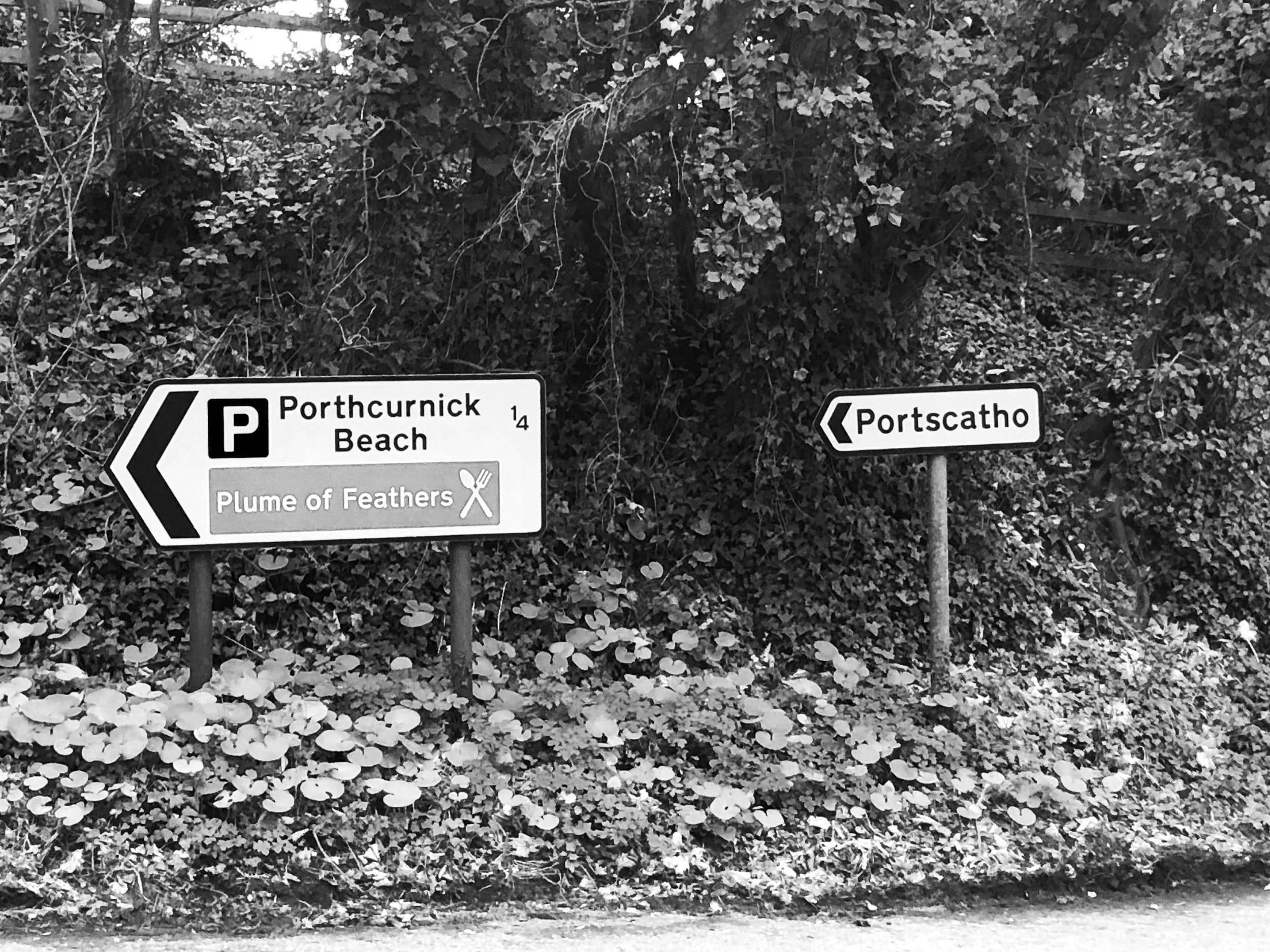 sign post to portscatho