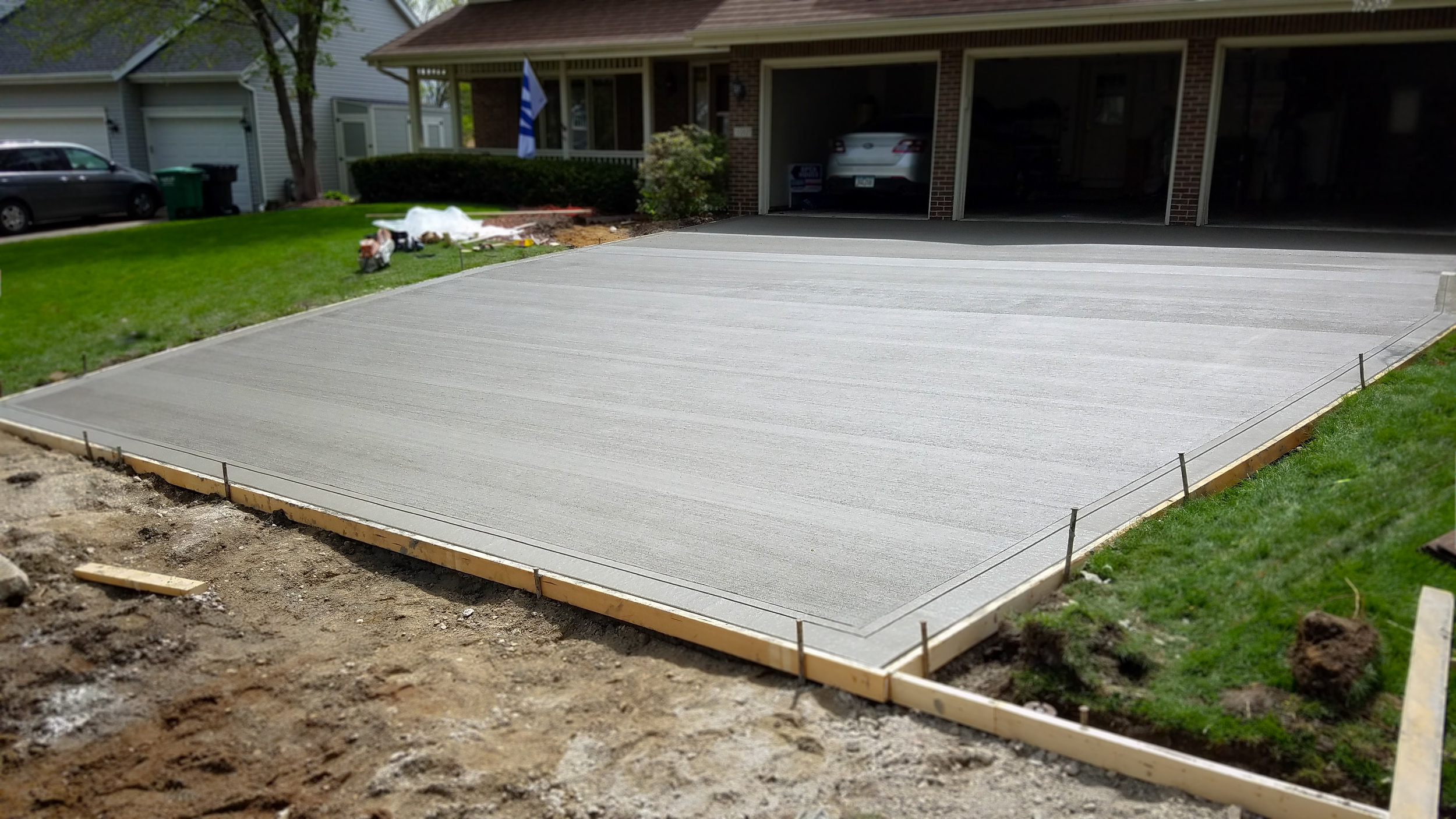Driveway Replacement in Des Moines