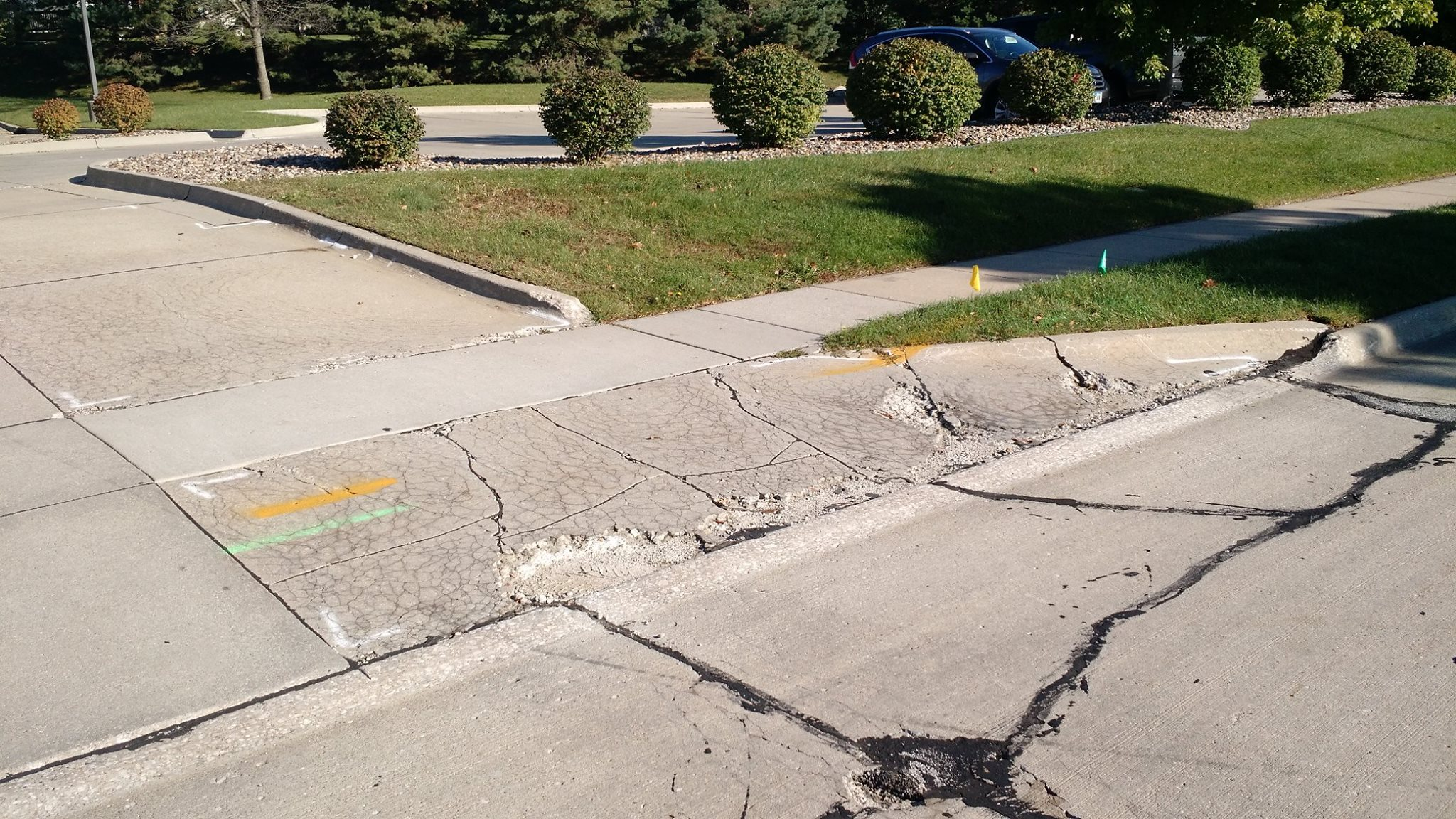 parking lot replacement in des moines