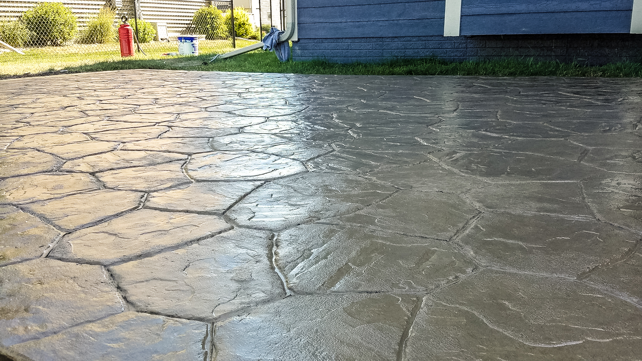 Decorative concrete - view our residential work