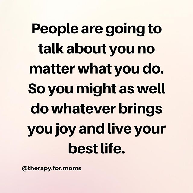 "We keep hearing ""live your best life"" but what does that actually mean? Can my ""best life"" be different than yours? Is it okay to do whatever it is that makes you happy? (within reason of course)⁠ .⁠ .⁠ Unfortunately there will always be someone who doesn't like the way you are being a mom. There are a million ways to be a good mom, not just a singular version. We should try to embrace all the goodness, and try to avoid passing judgement on other moms for making different choices.⁠ .⁠ .⁠ Breastfeed? Great! Bottle? Great!⁠ .⁠ Sleep train? Sounds good. Cry it out? Also good. ⁠ .⁠ Baby-wear? Cool! Prefer a carseat, stroller, or swing? Awesome!⁠ .⁠ .⁠ I could go on and on about all the great options, but at the end of the day, lets come together and support everyone who wants a happy & healthy baby and mom!⁠ .⁠ .⁠ .⁠ #itsallgood #benicetomoms #beingamomishard #therapyformoms #newmom #counseling #therapy #postpartum #postpartumdepression #postpartumanxiety #maternalmentalhealth #anxiety #depression  #inhomecounselor #inhomecounseling #onlinetherapy #onlinecounseling #limoms #suffolkcounty #setauket #stonybrook #stjames #mtsinai #centereach #selden #portjefferson #millerplace #ny⁠ ⁠"