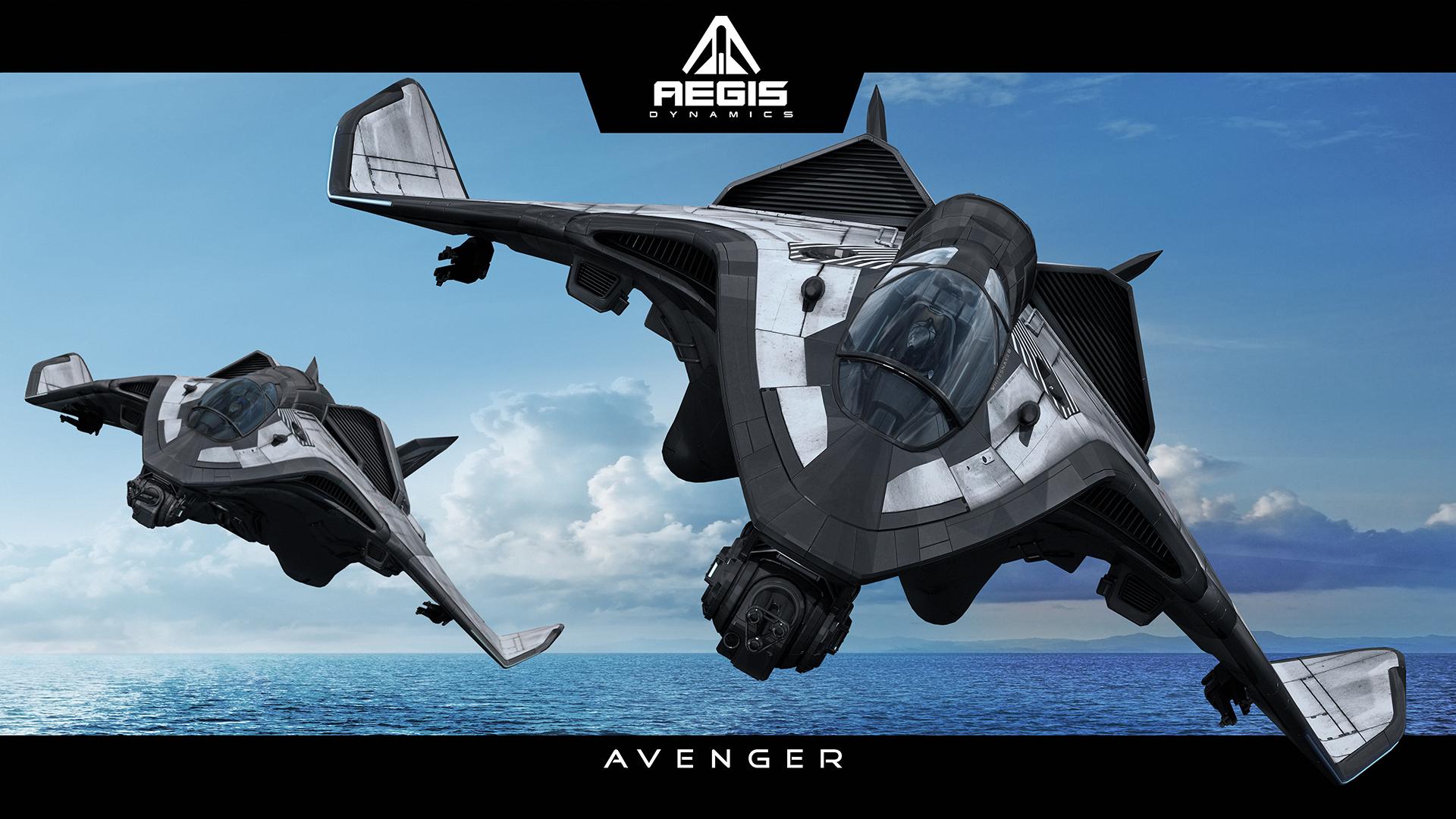 (Avenger Titan Photo Courtesy Aegis Dynamics)