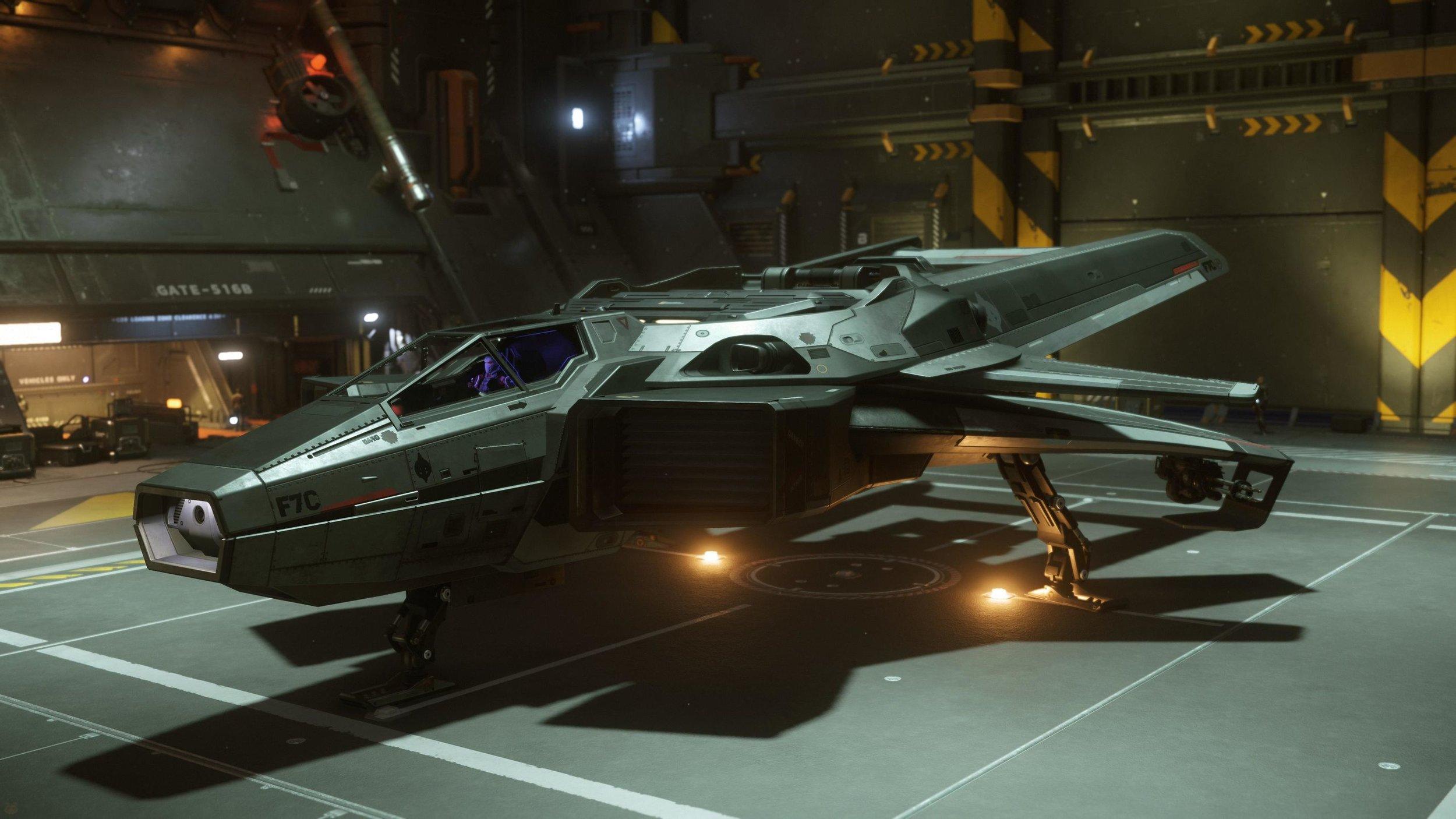 (F7C Hornet Photo Courtesy of Anvil Aerospace)
