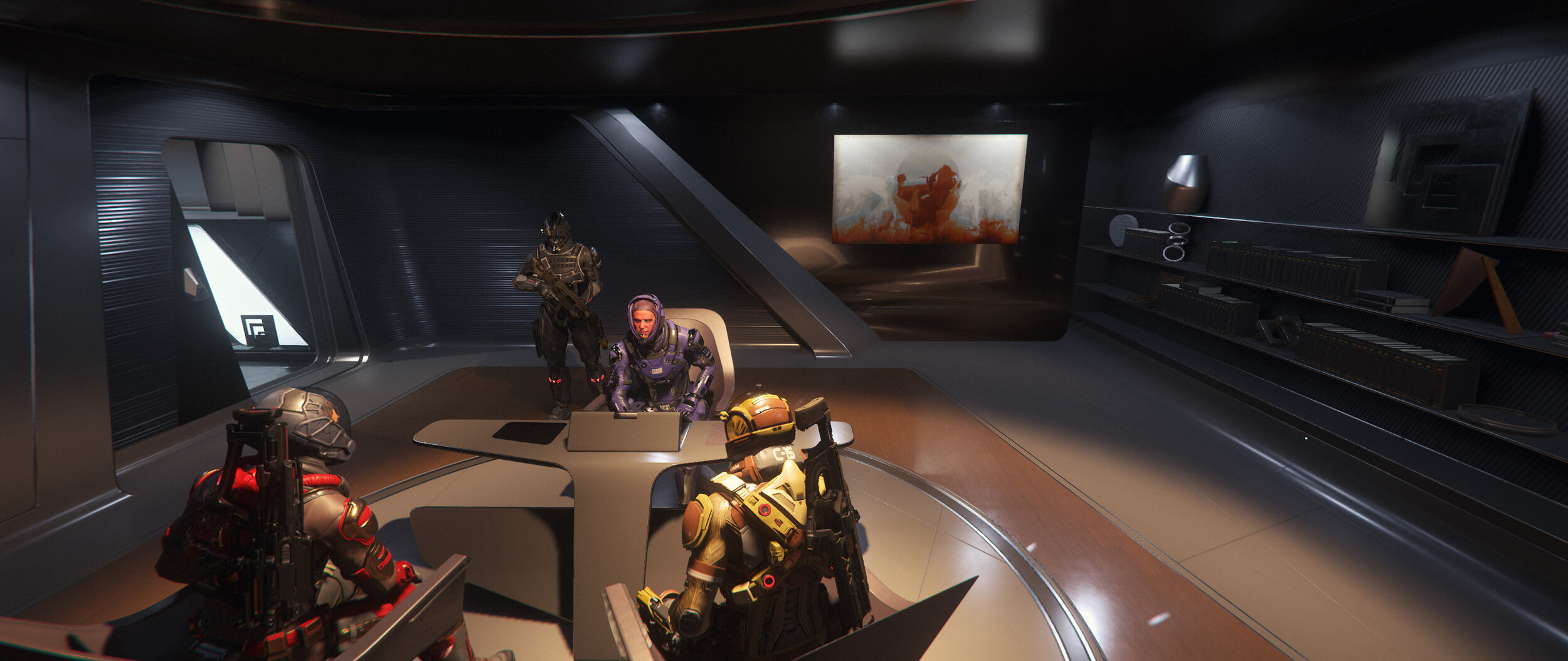 Diplomatic Relations can be tricky and sometimes you need just the right location to sit down and work out agreements.