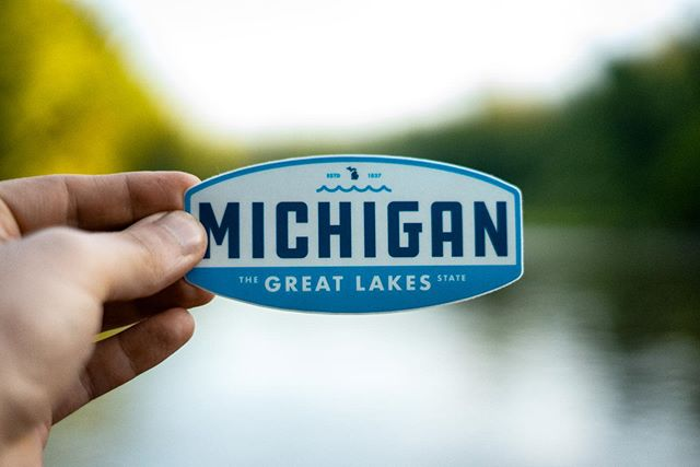 Safe to say plenty of Michiganders are spending this holiday weekend out on the lakes. ✌️ • • • Proceeds from every purchase go to the National Park Service to help maintain our public lands and protect the environment.