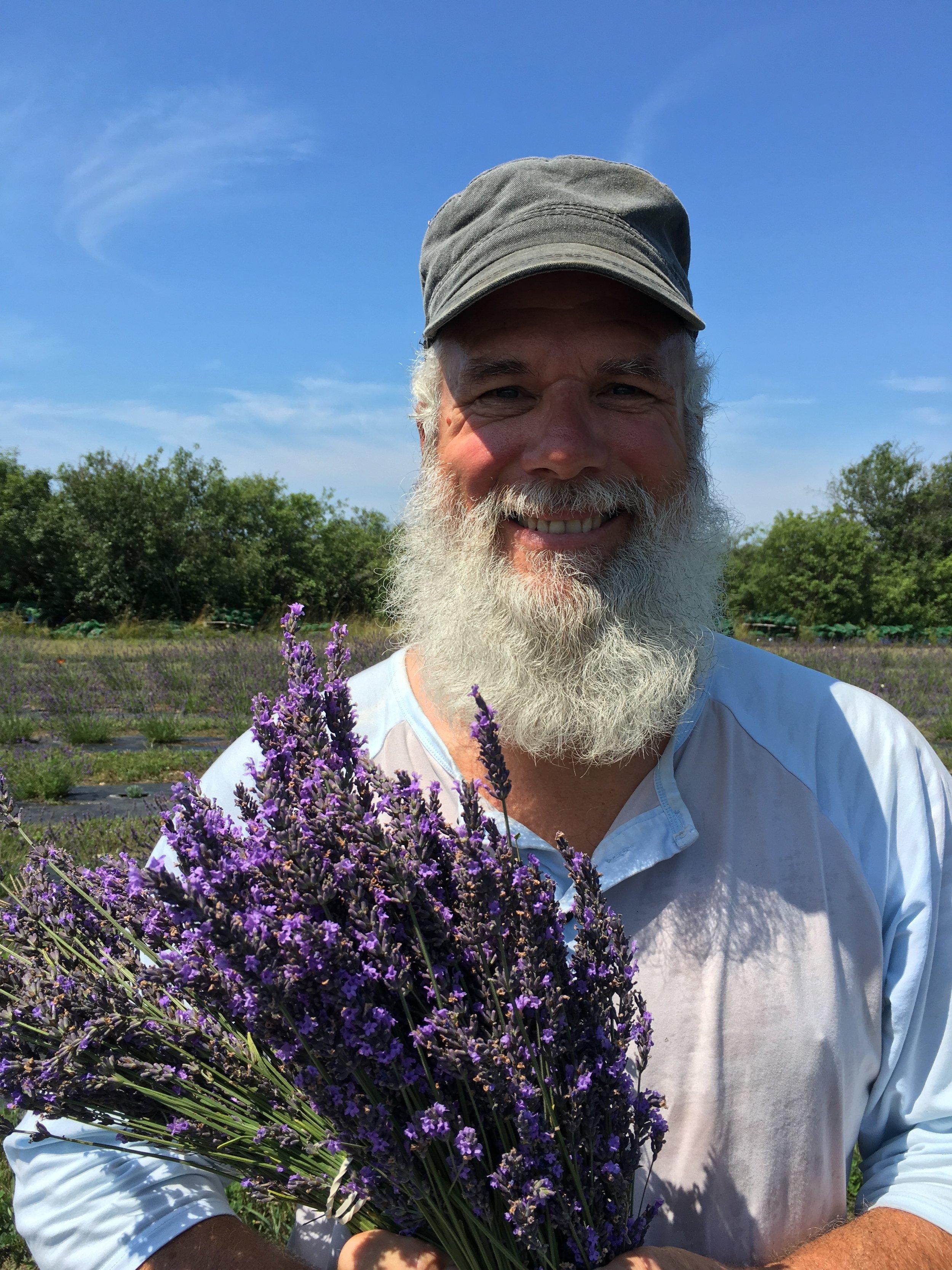 Sylvain - Head beekeeper, meadmaker, and best beard in the business.