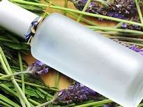 Lavender Water / Linen Spray - Lavender water or hydrosol can be used as a delicate perfume and throughout the house to freshen-up linens, upholstery, or yoga mats.