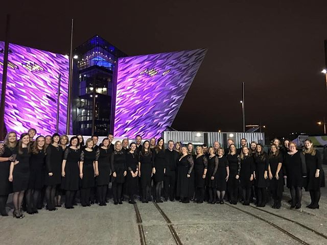 Delighted to share some footage from Saturday's BBC Proms in the Park at Titanic Slipways, Belfast. New Irish Chamber Choir and the Ulster Orchestra performing Dan Forrest's wonderful composition - 'And can it be'  Follow the link below: https://www.facebook.com/newirisharts/videos/441307693397371/