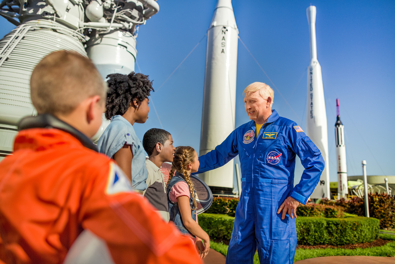 Attractions - Kennedy Space Center Visitor Complex | The London Helicopter