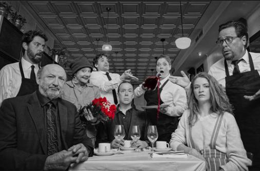 GARÇON! - Vendredi 19 juillet 2019, 20 hDans un restaurant français classique, trois serveurs, deux garçons et une fille vivent à travers leurs clients des mésaventures et des discussions où l'humour côtoie le drame. Dans le pur style de la comédie à texte avec un ton humoristique où la philosophie flirt avec la plaisanterie.