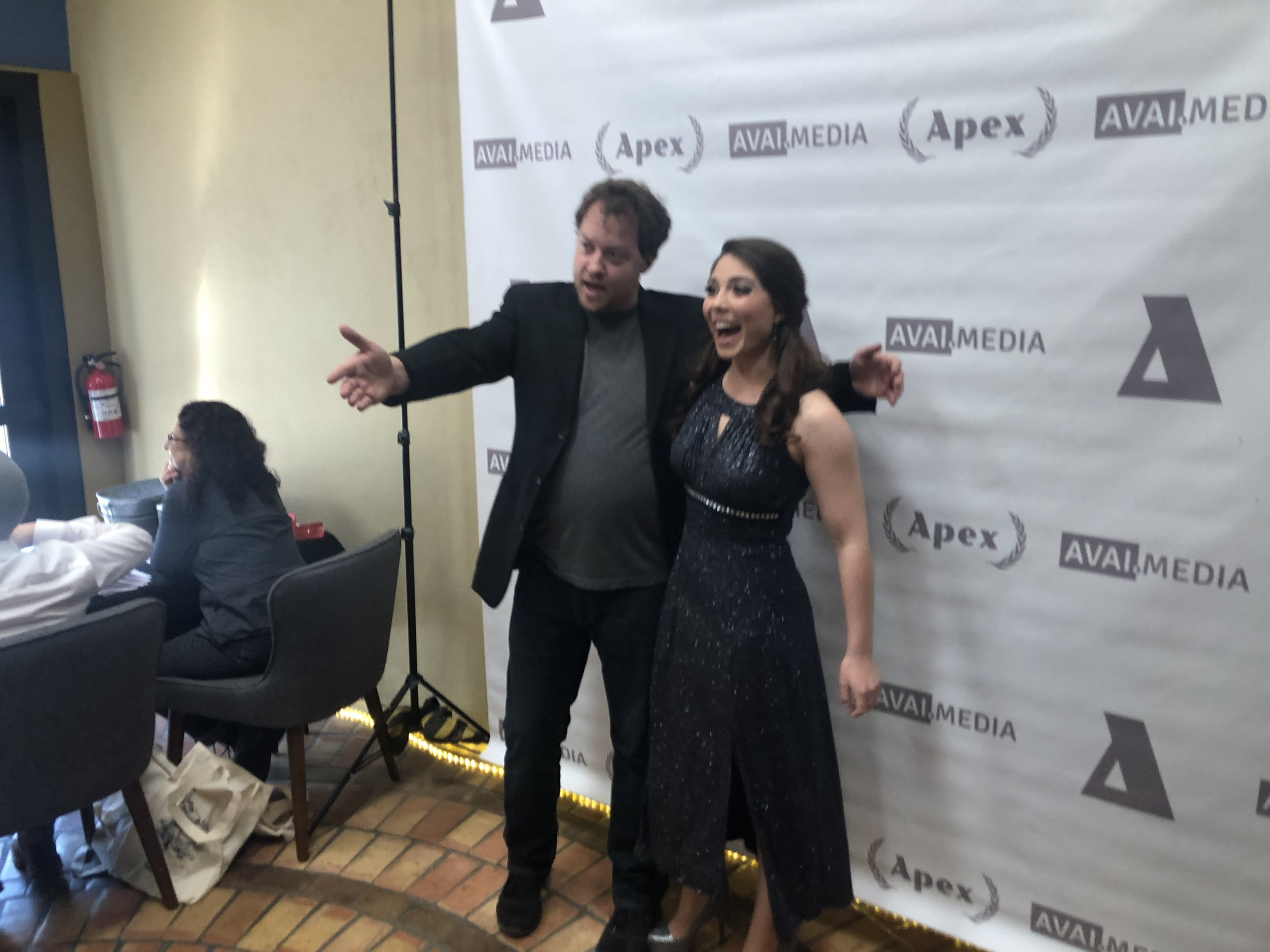 Guests arrive at the 5th annual Apex Film Festival, held February 23 in Tucson.
