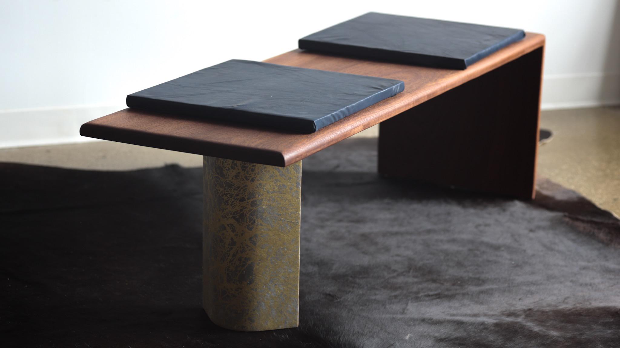 mahogany bench