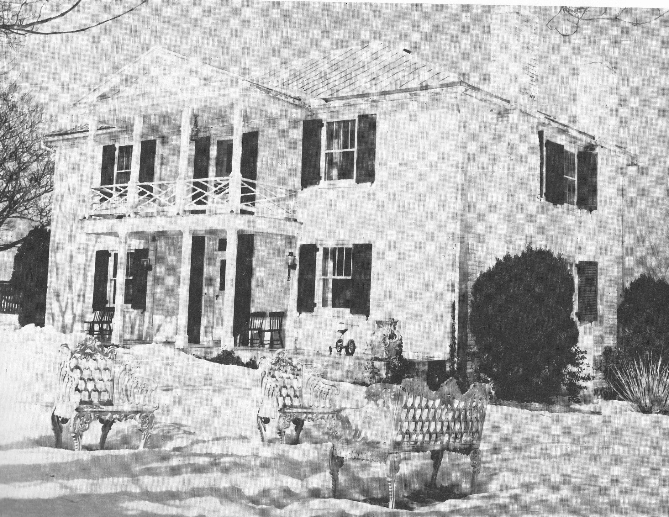 "Image courtesy of ""Old Homes of Page County, Virginia"" -Jennie Ann Kerkhoff"