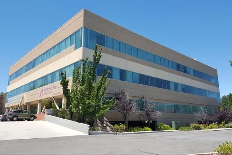 745 West Moana Office Building - Reno, NVThree story structural steel office building with 63,000 square feet of office space. The office building is supported at the plaza level by a post-tensioned concrete slab over one level of sub-terranean parking for 280 cars.Contractor: AMTECH CONSTRUCTION