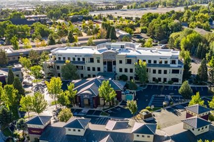MAGNOLIA VILLAGE OFFICE BUILDING - Reno, NVThree story structural steel office building with 83,000 square feet. The office building is supported at the plaza level by a post-tensioned concrete slab over one level of sub-terranean parking.Contractor: AMTECH CONSTRUCTION