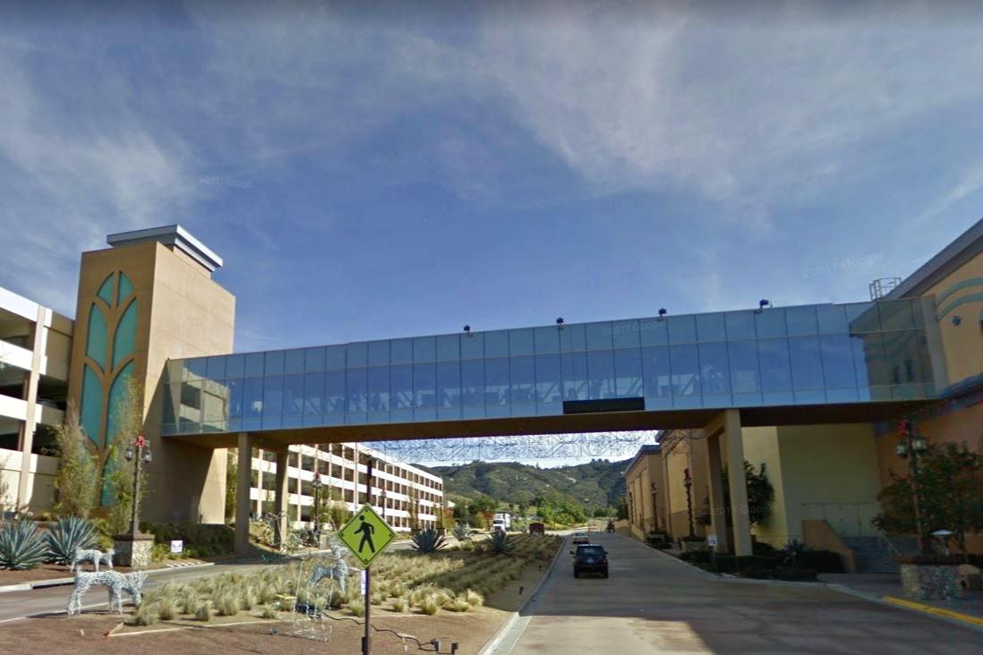 SYCUAN PEDESTRIAN BRIDGE - El Cajon, CAStructural steel framing pedestrian bridge.Contractor: BOMEL CONSTRUCTION