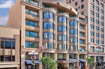 HARBOUR LIGHTS RESORT - San Diego, CAEight story reinforced concrete building with masonry shear walls, concrete moment frames and post-tensioned slabs, including a full basement, for interval-ownership condominiums.