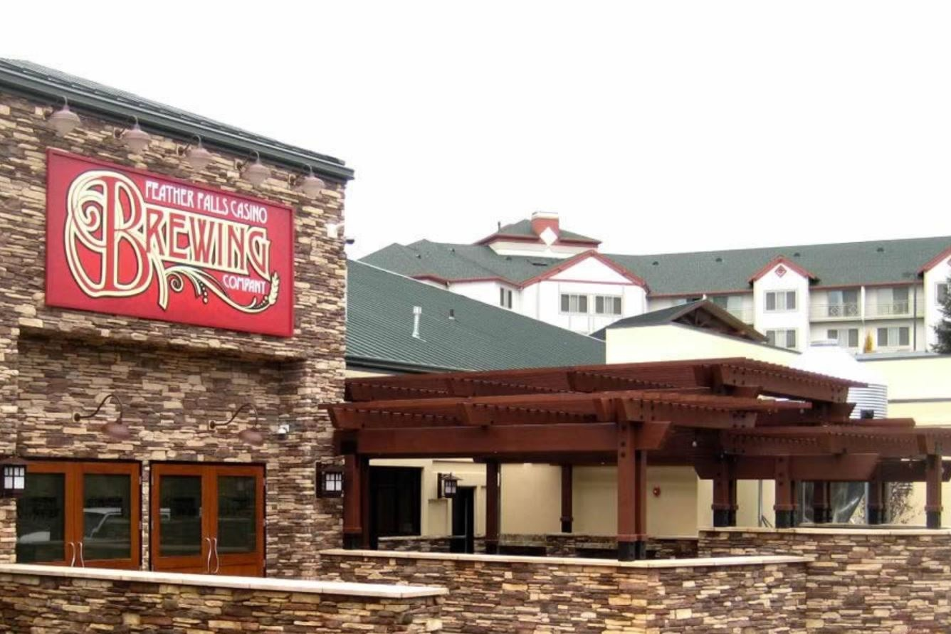 FEATHER FALLS CASINO BREWERY - Oroville, CAImprovements to an existing 30,600 square foot structure including a structural steel mezzanine and additions.Contractor: SMC CONSTRUCTIONArchitect: MBA ARCHITECTURE