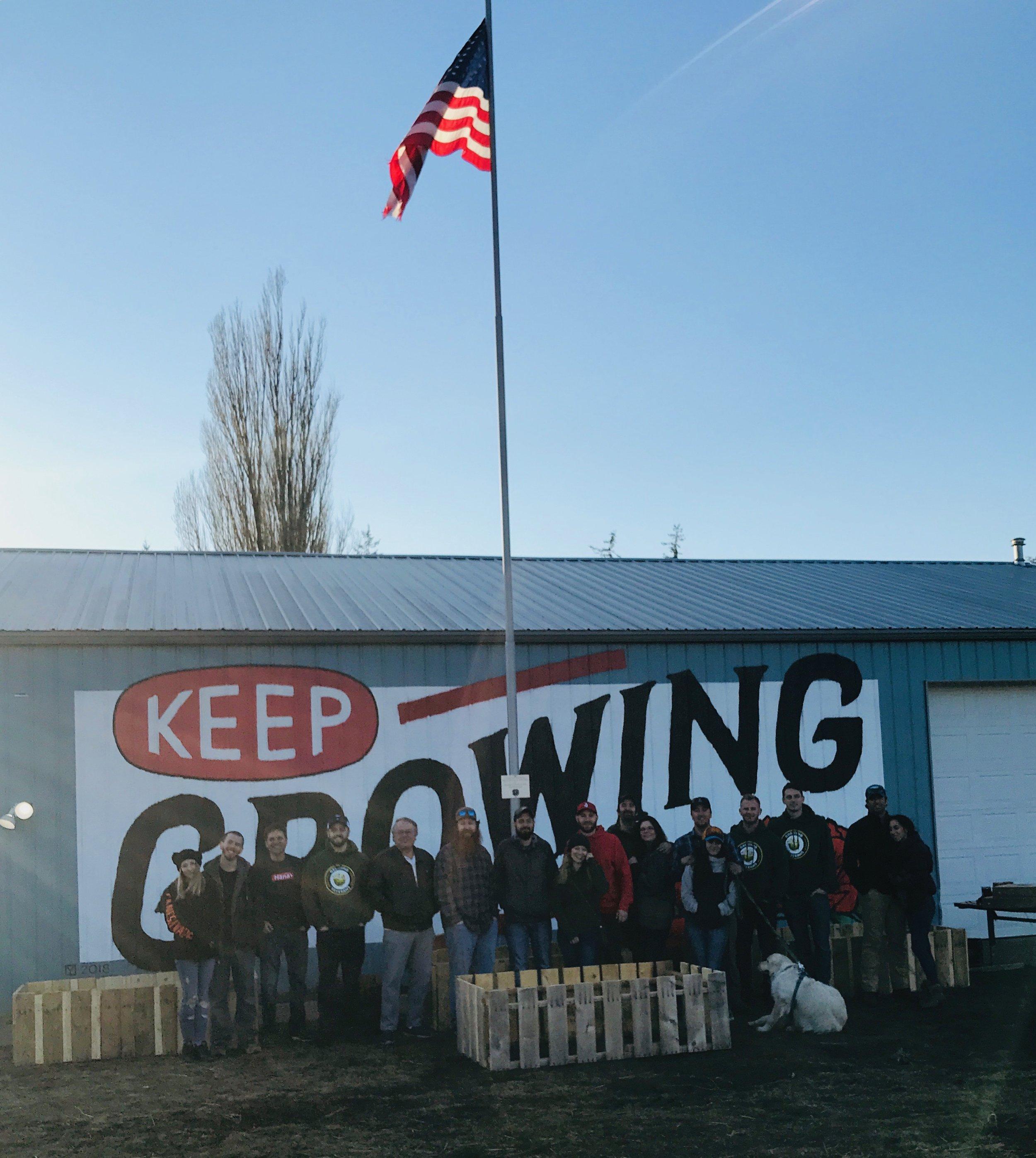 ReBoot Gathering at Growing Veterans Farm