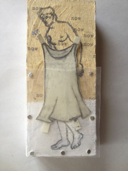 "ART BOX 2015-paper dolls- 2-1/2""x5"""