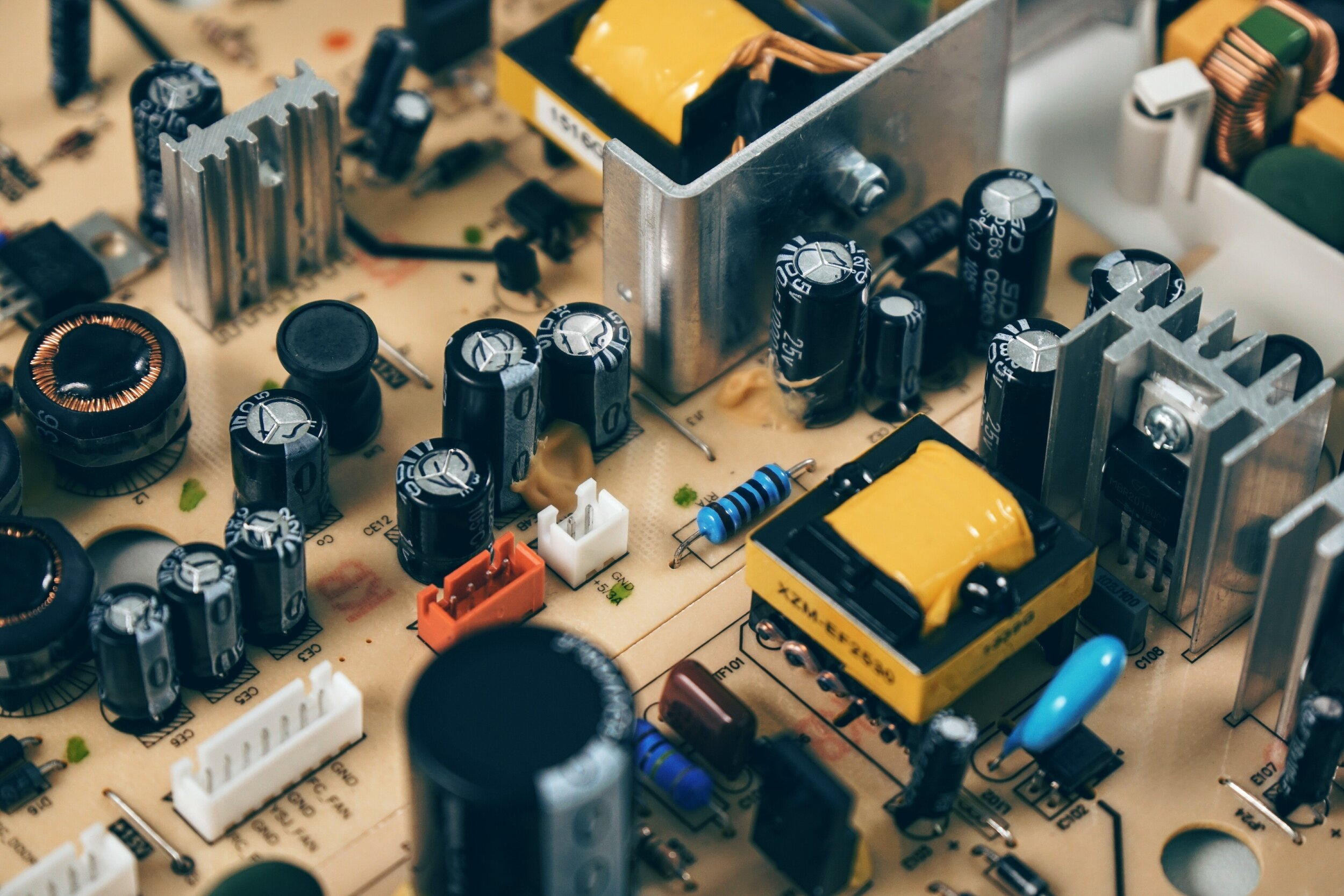 CAPACITORS, POWER SUPPLY, TRANSMISSIONS