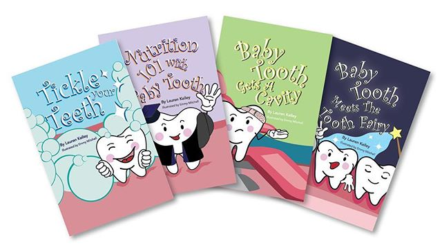 Meet Baby Tooth! Is there a child in your life who doesn't want to brush his teeth or is struggling to make nutritious food choices? Is she excited (or scared) about losing her first tooth? Is your child facing a trip to the dentist for a cavity? Written by Lauren Kelley and illustrated by Emmy Mitchell, the Baby Tooth series tackles these situations through the eyes of Baby Tooth. Click the link in the bio to learn more or purchase this adorable series! #dentalhealth #kids #kidsbooks #healthysmiles #toothfairy #nutritionforkids #parenting #parentinghacks #tipsfortoddlers #tipsforparents #parentingwin #kidstuff #modernparenting #booksforkids #booksforlittles #booksforchildren #childrensbooks #childrensliterature #childrenslibrary #booksforsale #bookworm #bookstagram #bookstack #booksofinstagram #allthebooks #booksofig