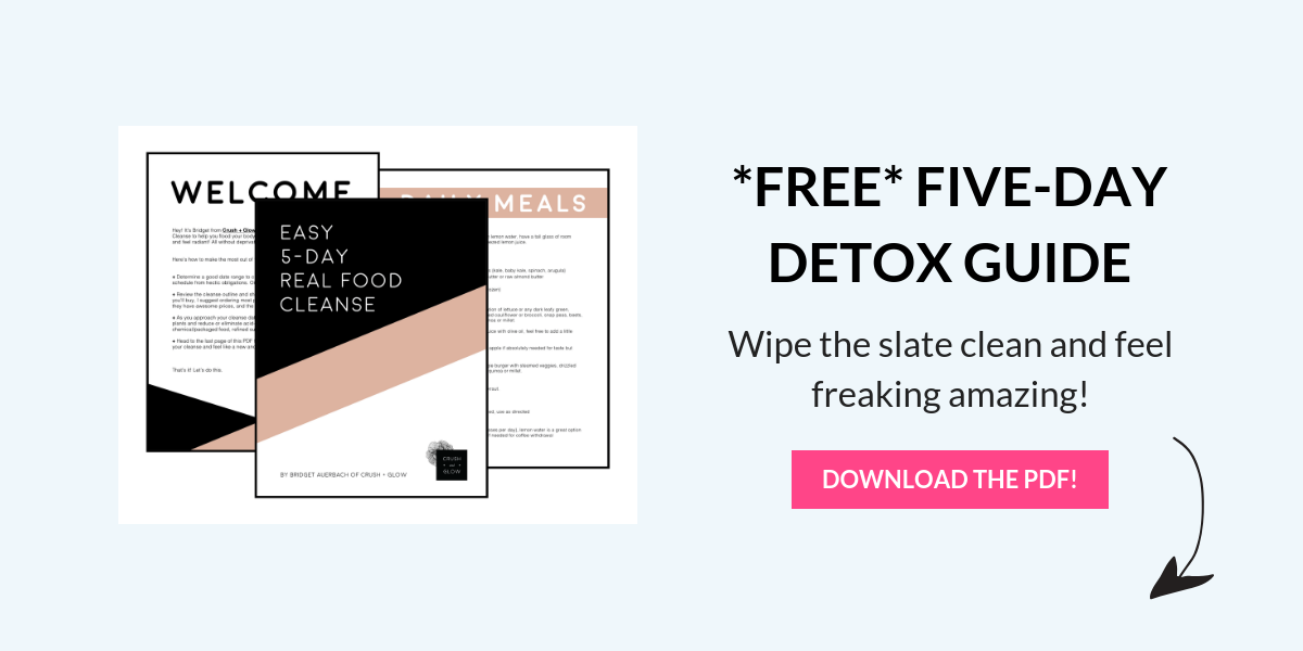 HOW TO DETOX CLEANSE GUIDE
