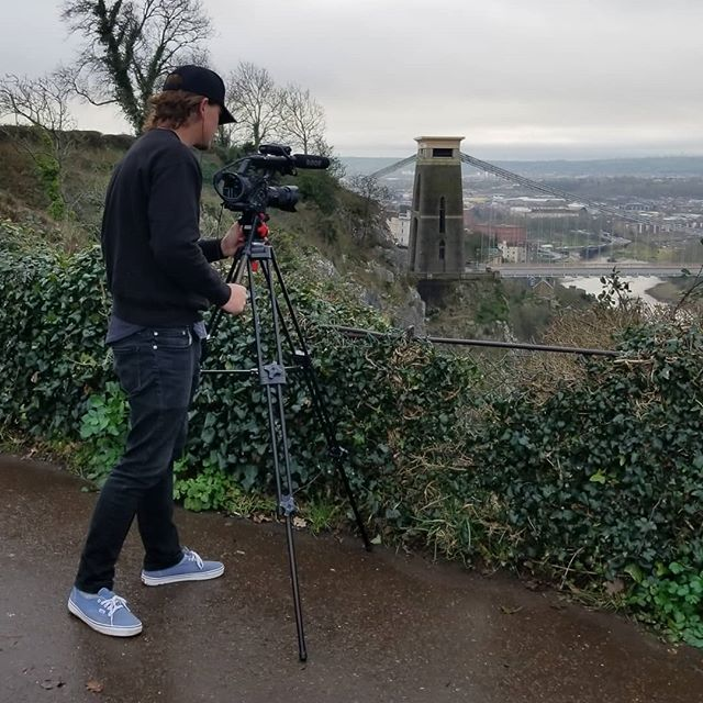 Lining it up in Bristol... day 6 was rad with @groovykidsyoga . . . . . . . . #documentary #film #director #travel #awesome #epic #adventure #explore #england #naturallight #sony #fs5 #4k #setlife #dowhatyoulove @liftedfilmsmedia