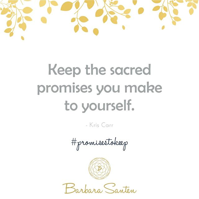 #promissestokeep . . . #BarbaraSanten #mindsetcoach #personalpower #selflovejourney #intentionalliving #innerstrength #embracechange #fullfillment #dontquit #willpower #learnfromit #wisequote #enlightened #vision #visionaire #lawofattraction #dreambig #dreambigger #dream #rightchoice #dreamer #takeachance #takeachanceonyou #positiveattitude #bekindtoyourself #enlightenment #myhappyplace #selfcare #livelifelighter