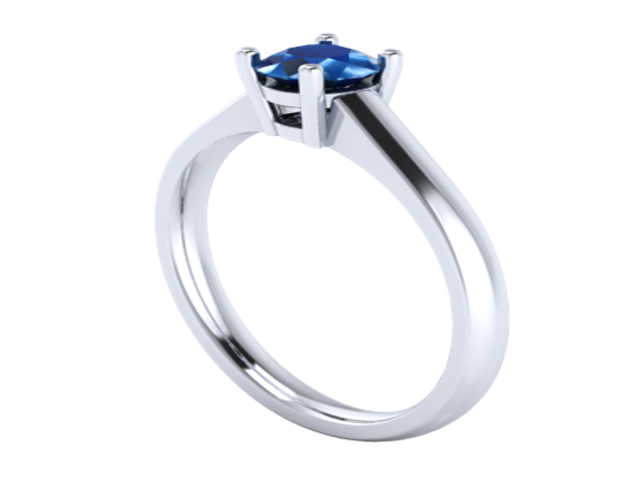 Render traditional ring.
