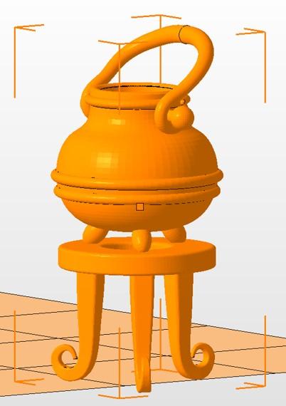 Little kettle inspired on harry potter movie.
