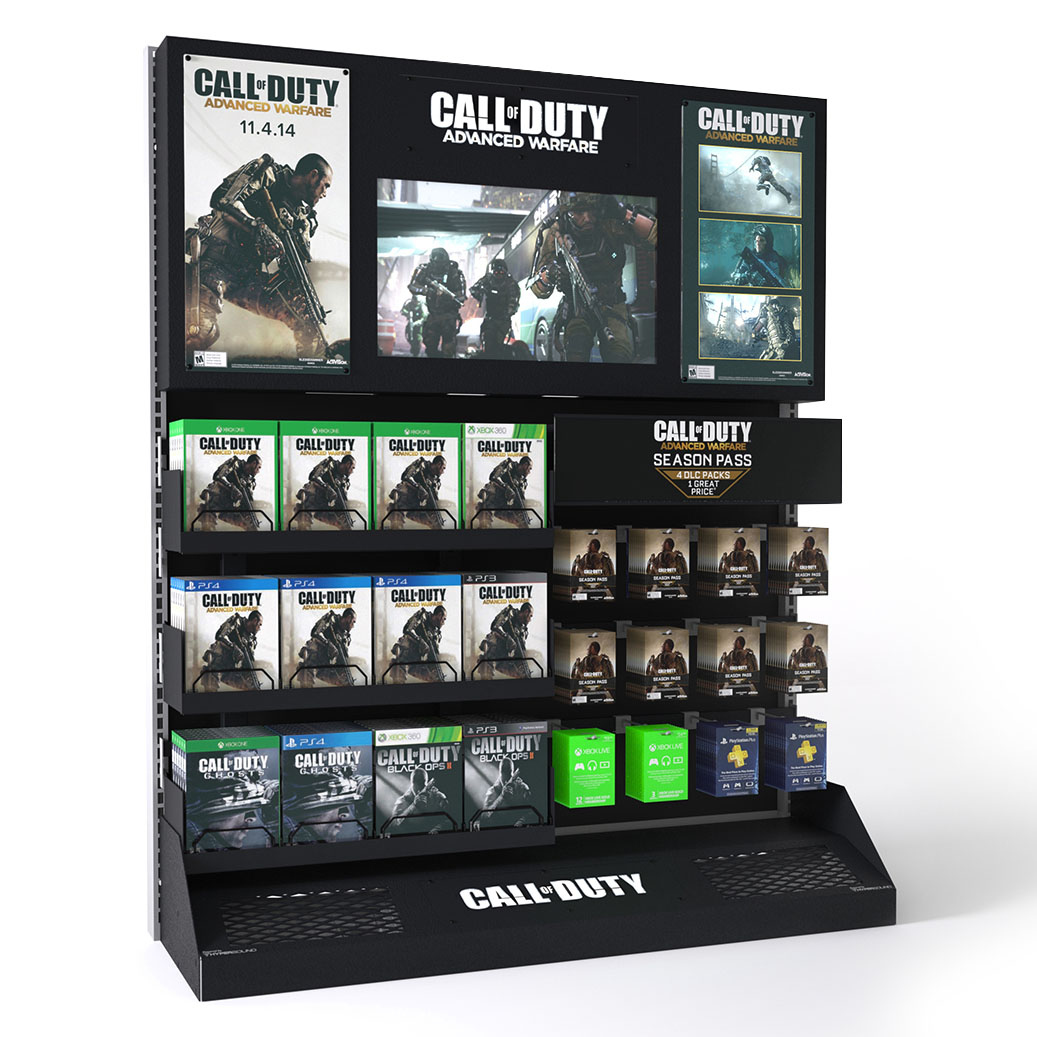 Activision  - Call of Duty Endcap -  Best Buy Rollout