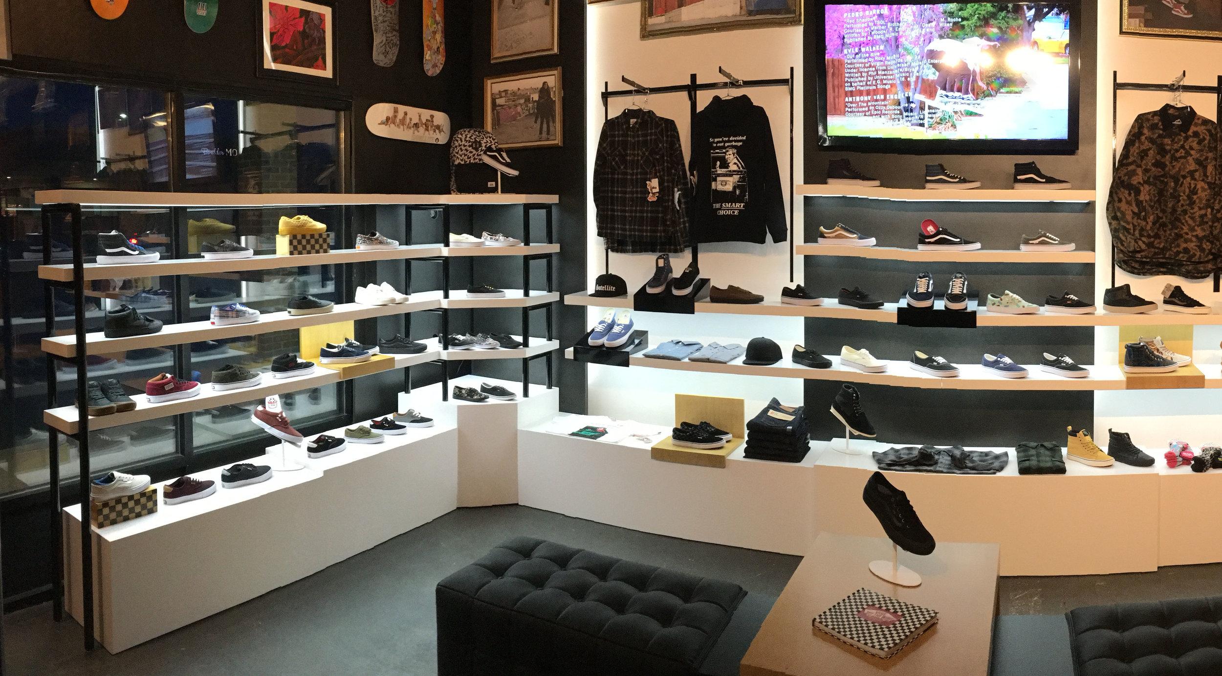 Vans  - Branded Store-In-Store