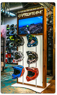 Fox Racing  - Helmet Display