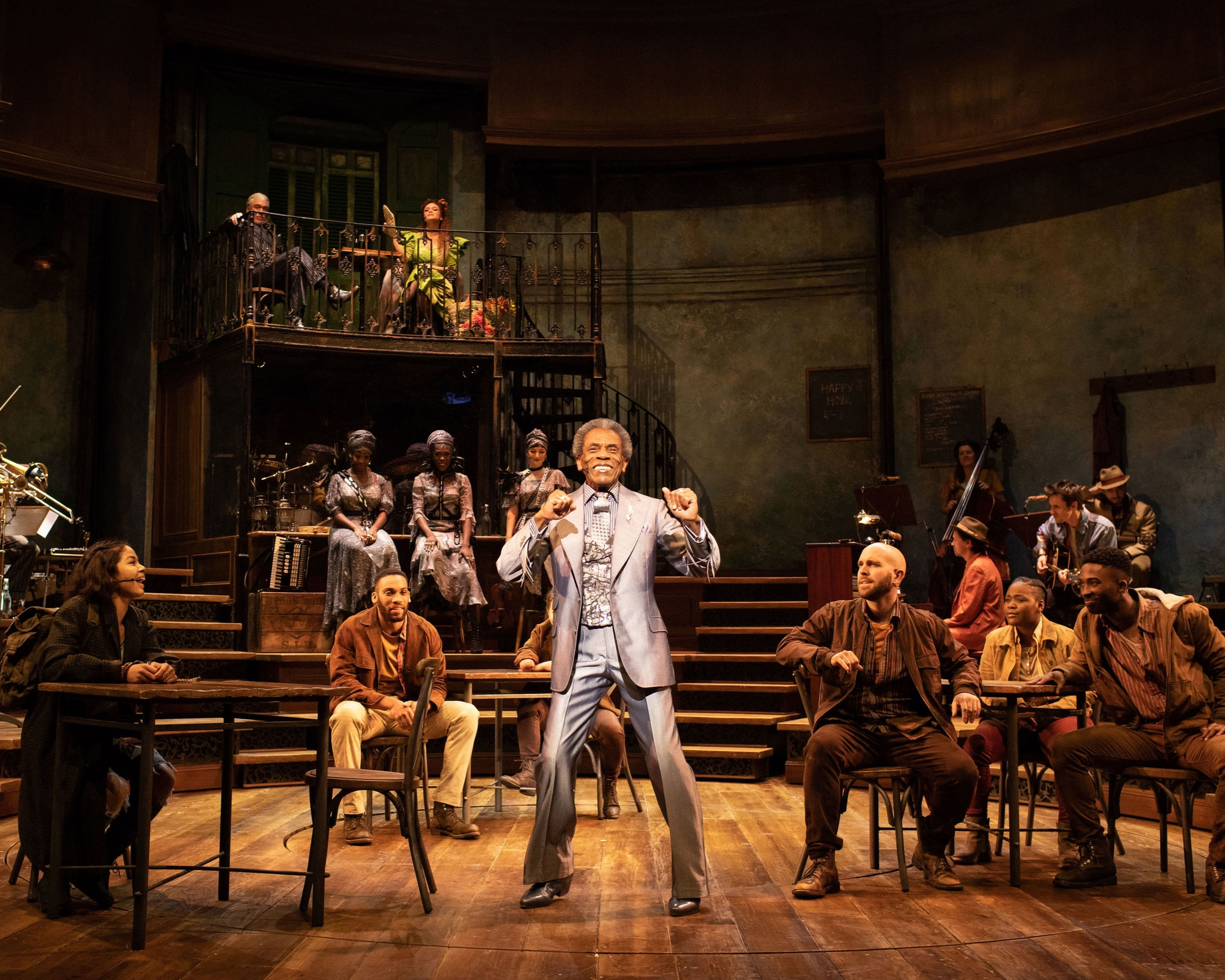 HADESTOWN - NATIONAL THEATRE, LONDON