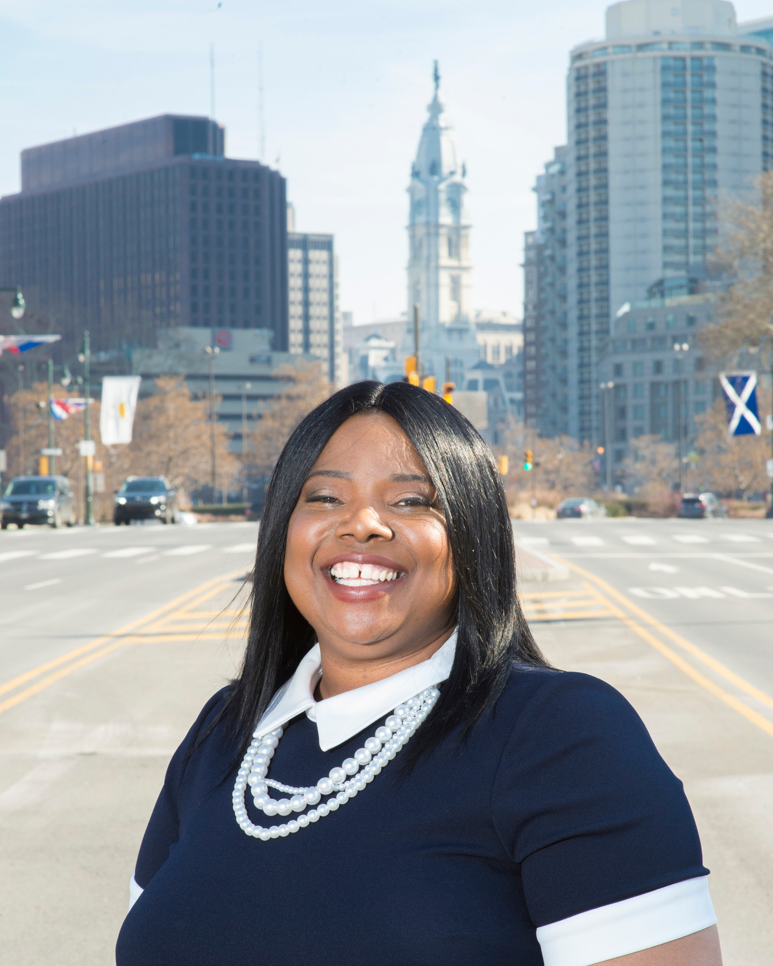 Carla Cain - wants to push voter registration and turnout as City Commissioner
