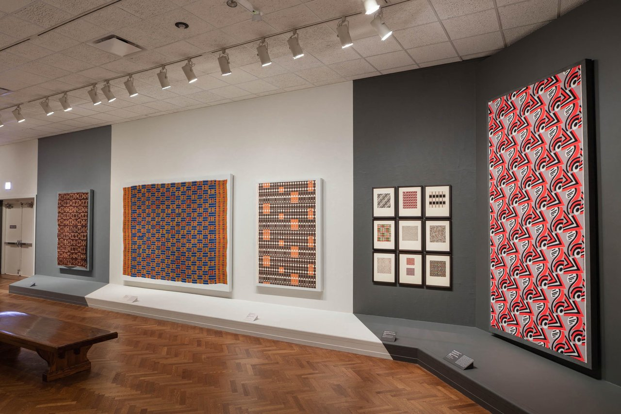 Elizabeth F. Cheney and Agnes Allerton Textile Galleries, The Art Institute of Chicago, 2018-2019.