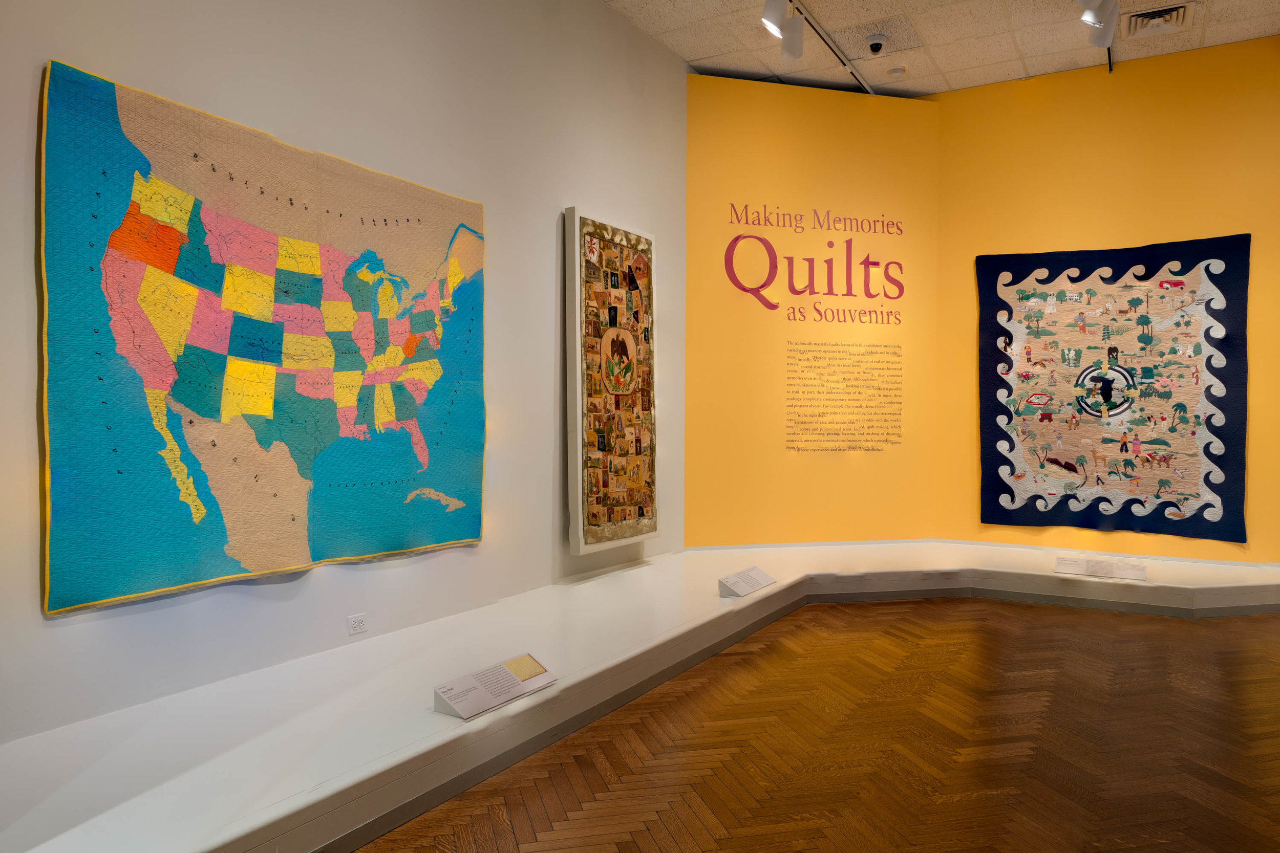 Elizabeth F. Cheney and Agnes Allerton Textile Galleries, The Art Institute of Chicago, 2017-2018.