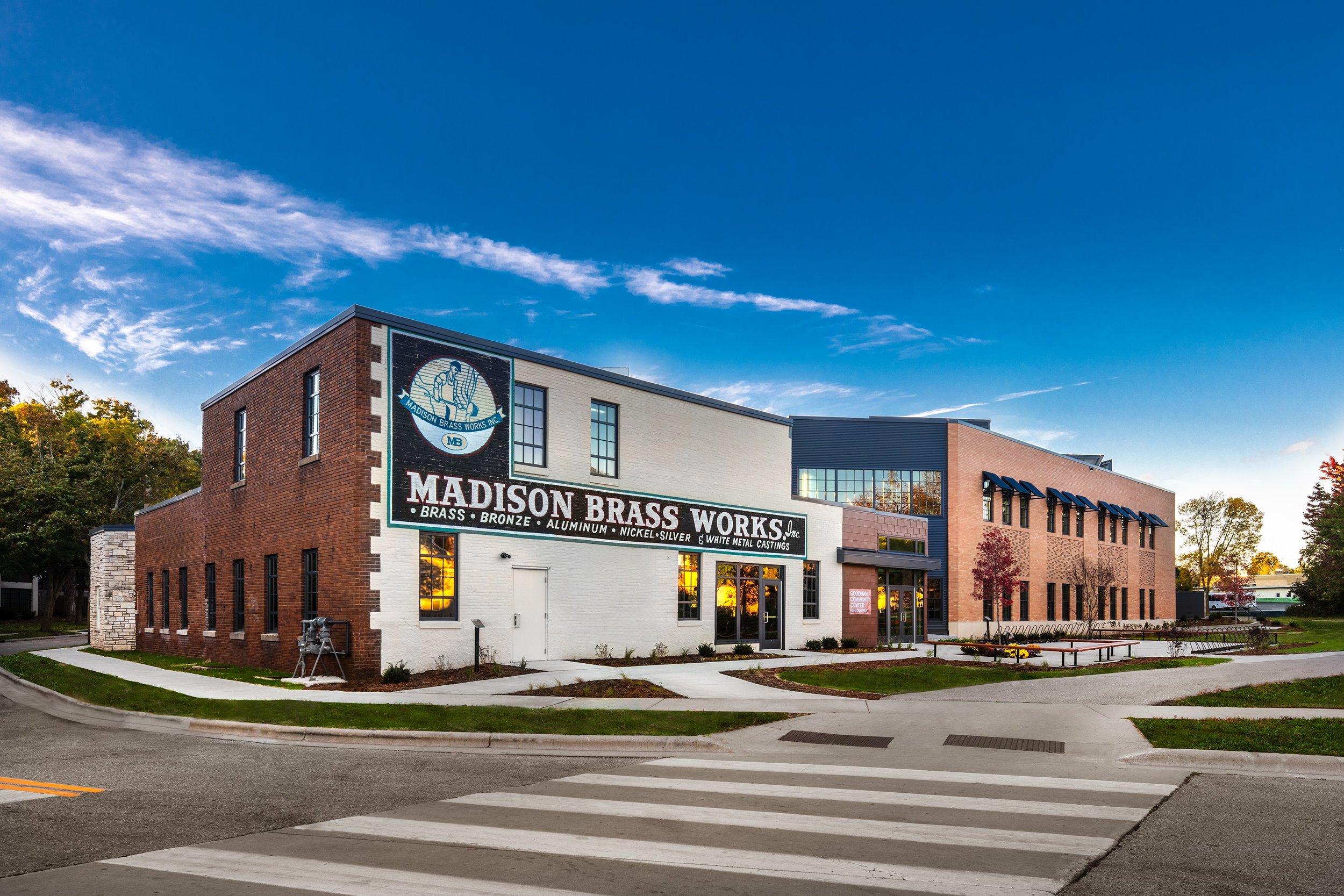 Goodman Community Center - Brass Works