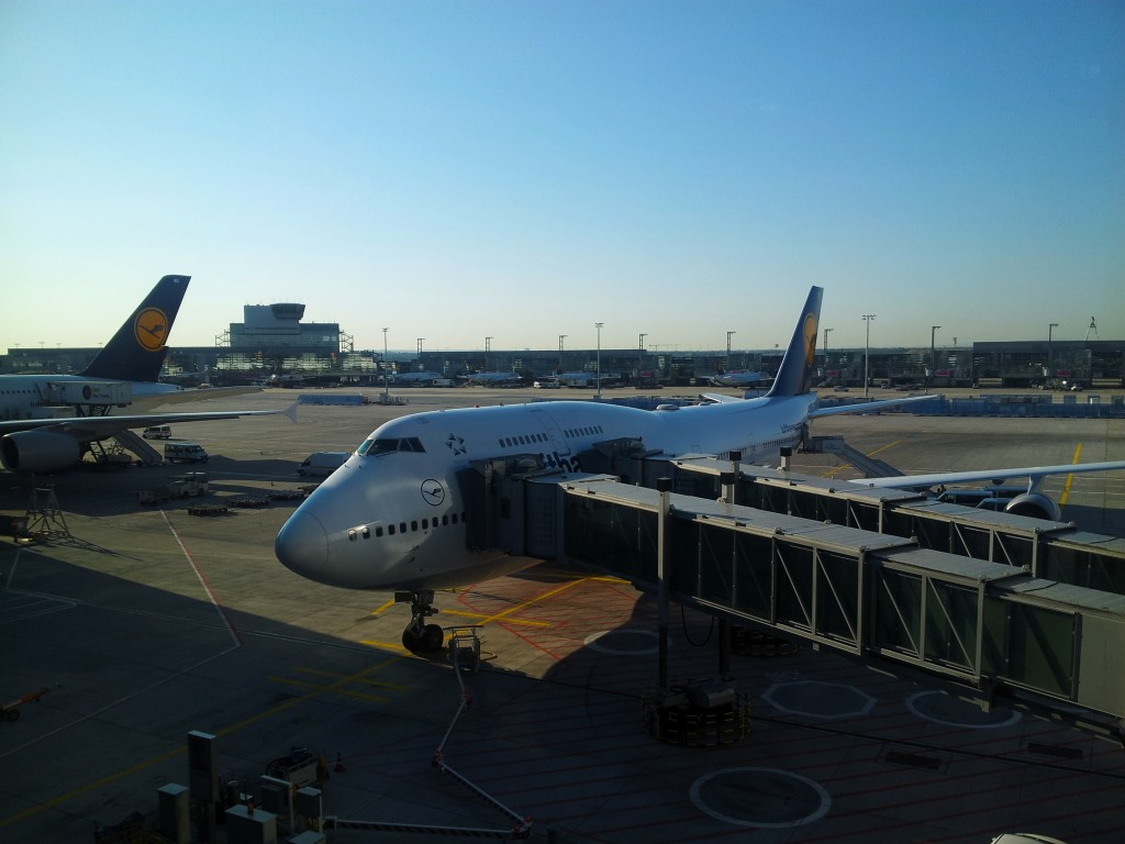 Frankfurt Airport–I wonder how traveling pianists did it in the age of stagecoaches?