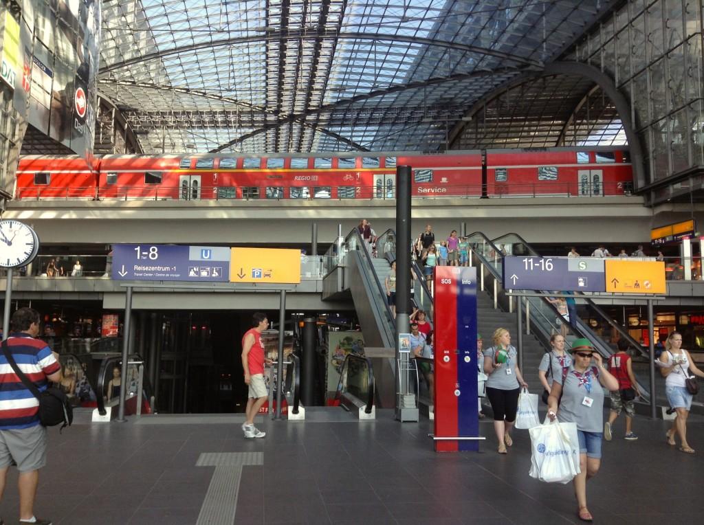 Berlin Hauptbahnhof is an exciting travel hub