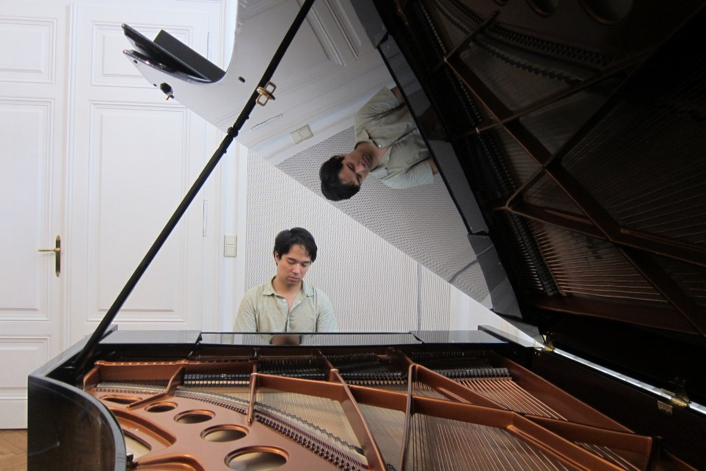 Rehearsal in the Bösendorfer Salon in the Musikverein