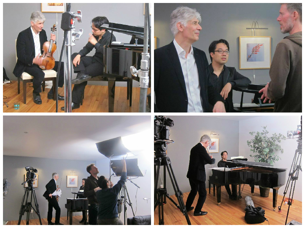 Rogue violist Roger Chase–an astonishing conversation and rehearsal