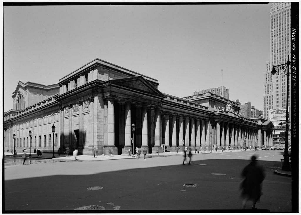 Pennsylvania Station stood for only 53 years