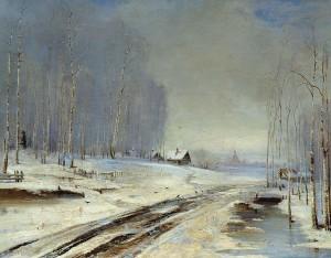"""""""Sea of Mud"""" 1894. Alexei Savrasov (1830–1897)"""