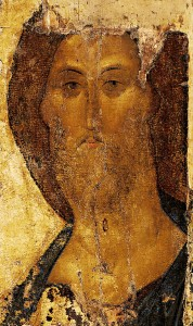 """""""Christ the Redeemer"""" by Andrei Rublev"""