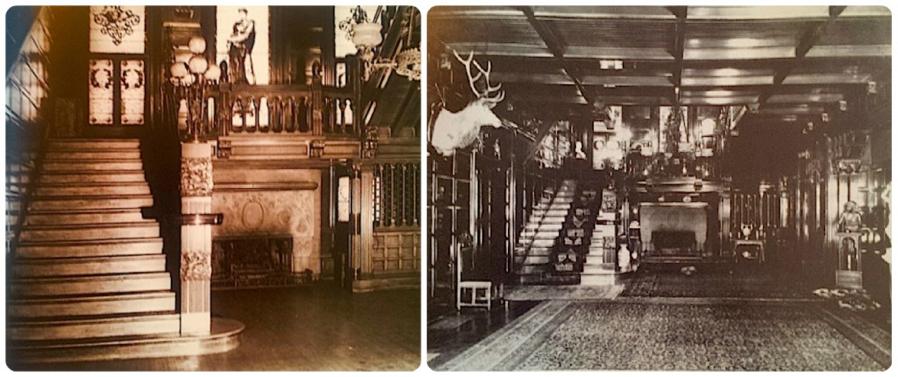Interior of the Everett Mansion.
