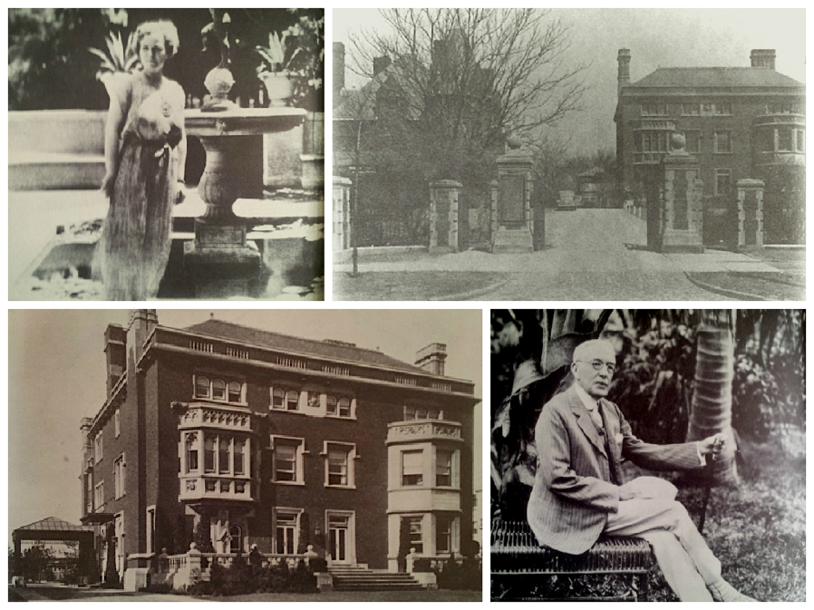 The Mather Mansion was the last to be built, in 1912, and was one of the largest at an estimated 50,000 square feet. It still stands today, largely unchanged--but empty. This home hosted the grandest collections of art and the most incredible musical parties on the third floor ballroom. Pictured are Elizabeth Ring Mather and Samuel Mather. It housed the Cleveland Institute of Music for some years.