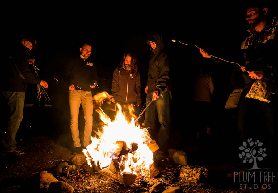 Friends by the Campfire photograph by Plum Tree Studios Lake Crescent Lodge WA.png